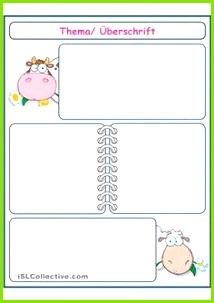 Unterrichtsplanung Vorlagen · Vorlage diverse übungen 2