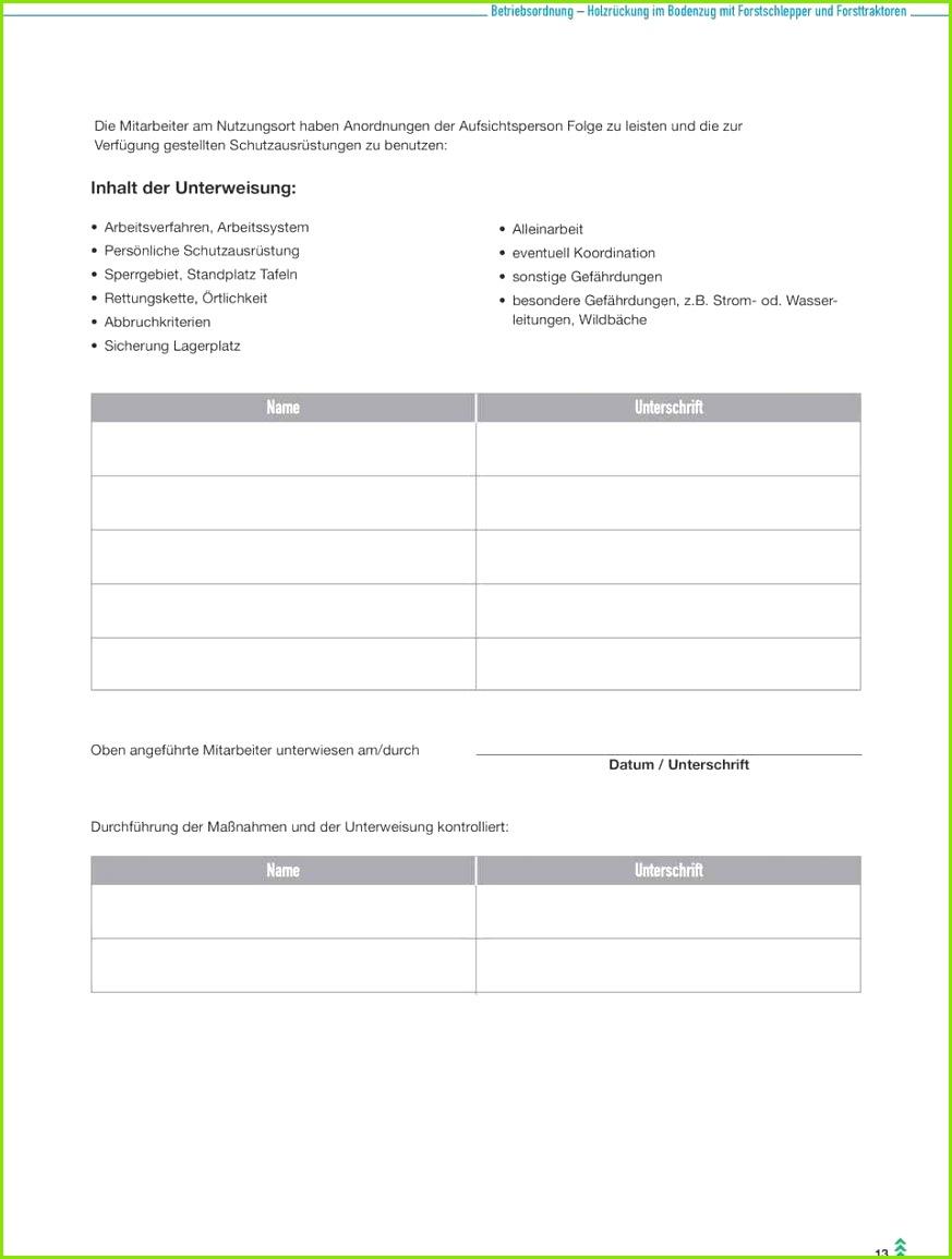 Ada Unterweisung Muster Detaillierte Unterweisung Arbeitssicherheit Vorlage Beautiful Unterweisung