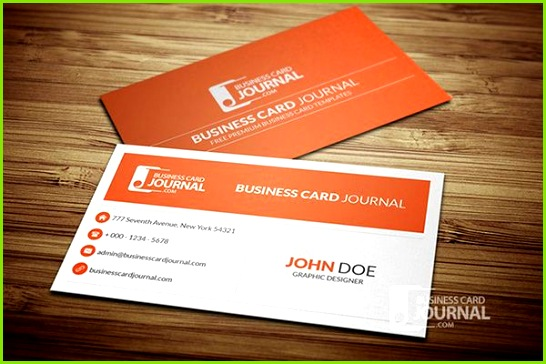 Clean and minimal corporate business card template available for free as PSD or Vector file