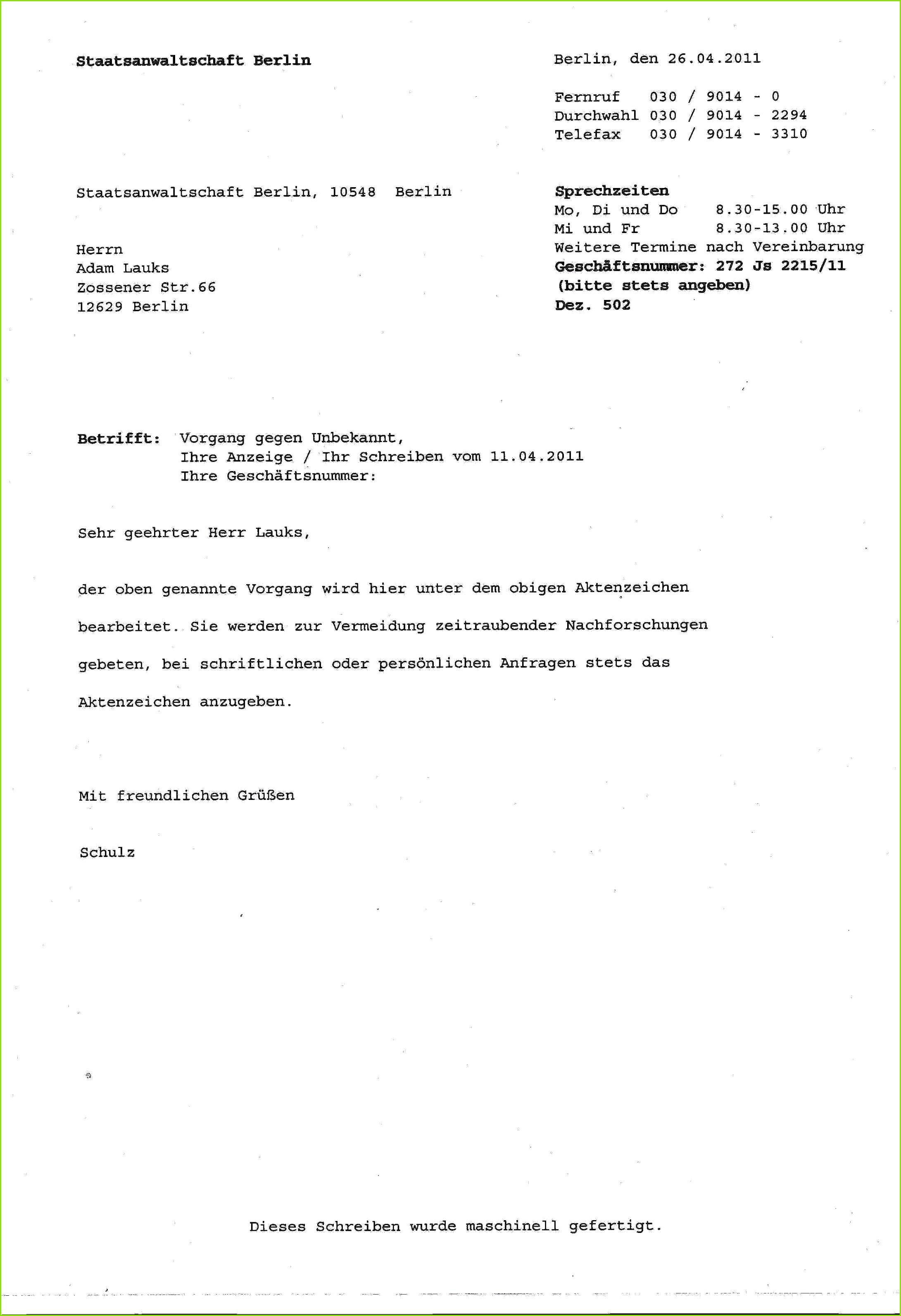 Awesome Bilder Der Vorladung Polizei Schriftlich Absagen Vorlage