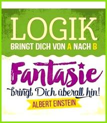 "Sticky Jam ""Logik"" Magnet Recycling Upcycling Magnet Geschenk 2 flowerpower Humor Zitate"