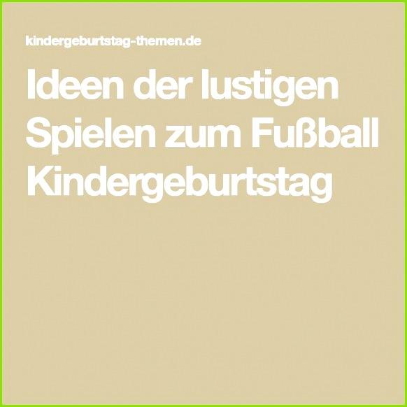 Ideen · Ideen der lustigen Spielen zum Fußball Kindergeburtstag