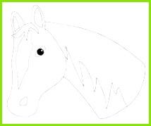 Pferdekopf …