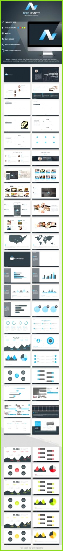 Premium Presentations Template for Keynote and Powerpoint