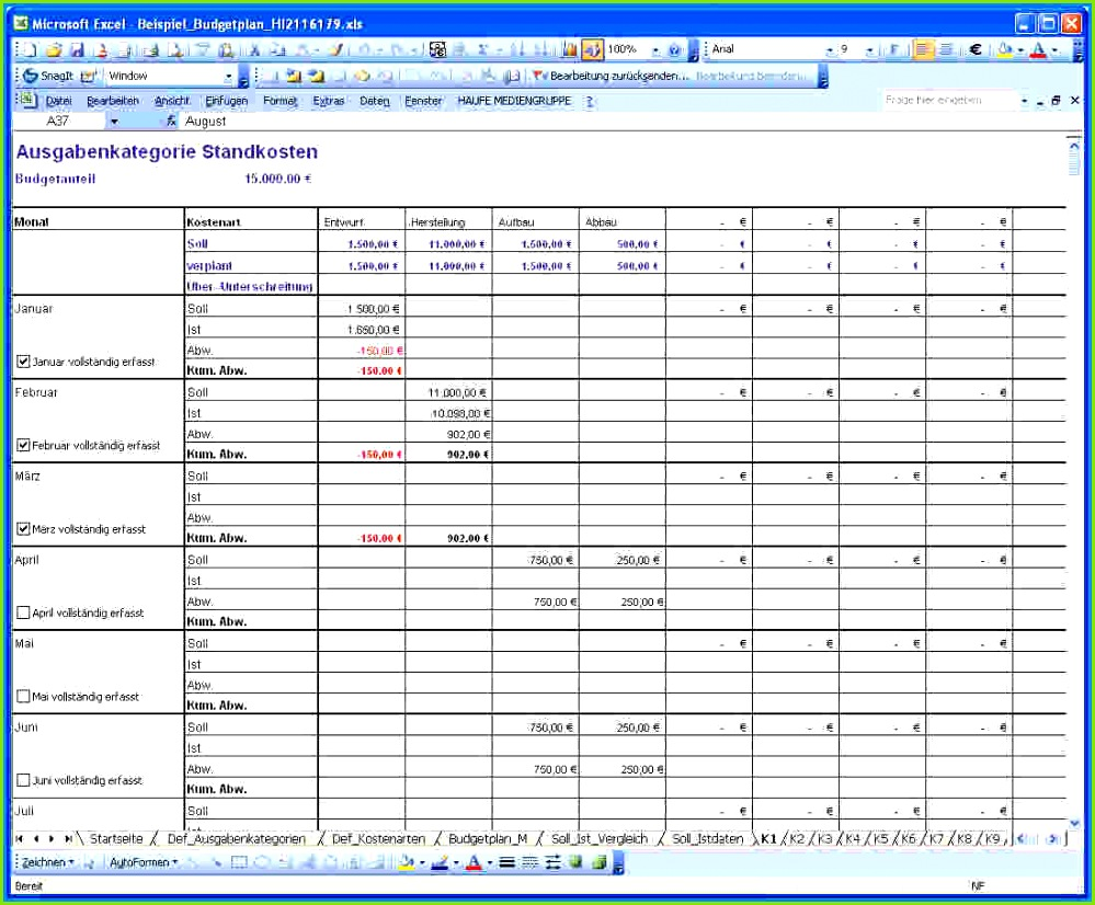 Excel Tabellen Vorlagen Business Template