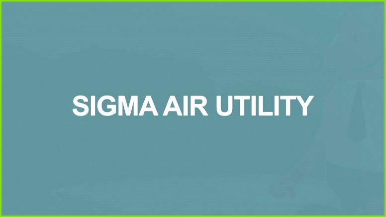 Operator model – SIGMA AIR UTILITY