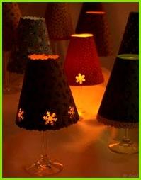 Lampenschirm selber basteln mit Vorlage zum Ausdrucken DIY Lamp shade Free Printable