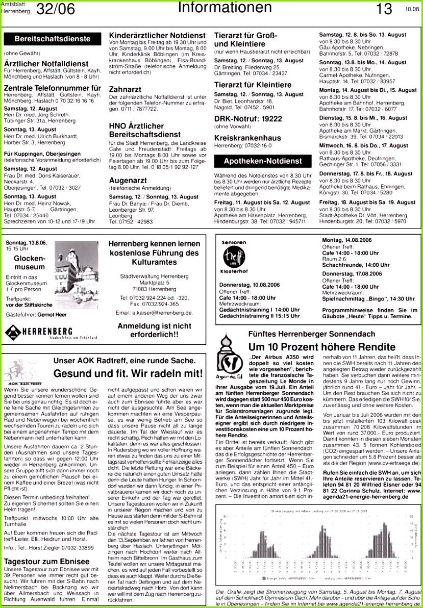 3 Für Oberjesingen telefonische Voranmeldung erforderlich Samstag 12 August Frau