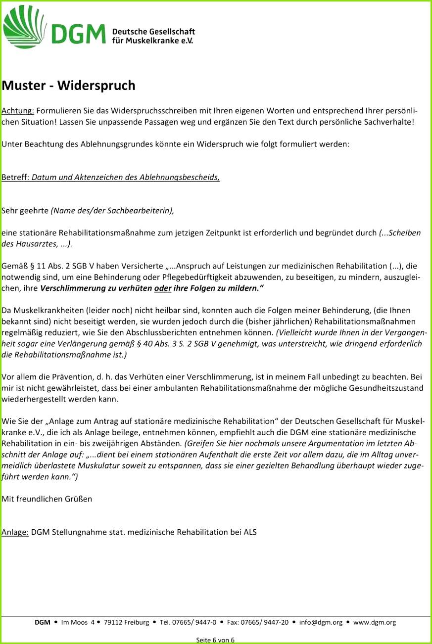 Widerspruch Reha Ablehnung Musterbrief Schön Gdb Hhe Erlaubt Keinen Rckschluss Auf Leistungsfhigkeit Vorlage