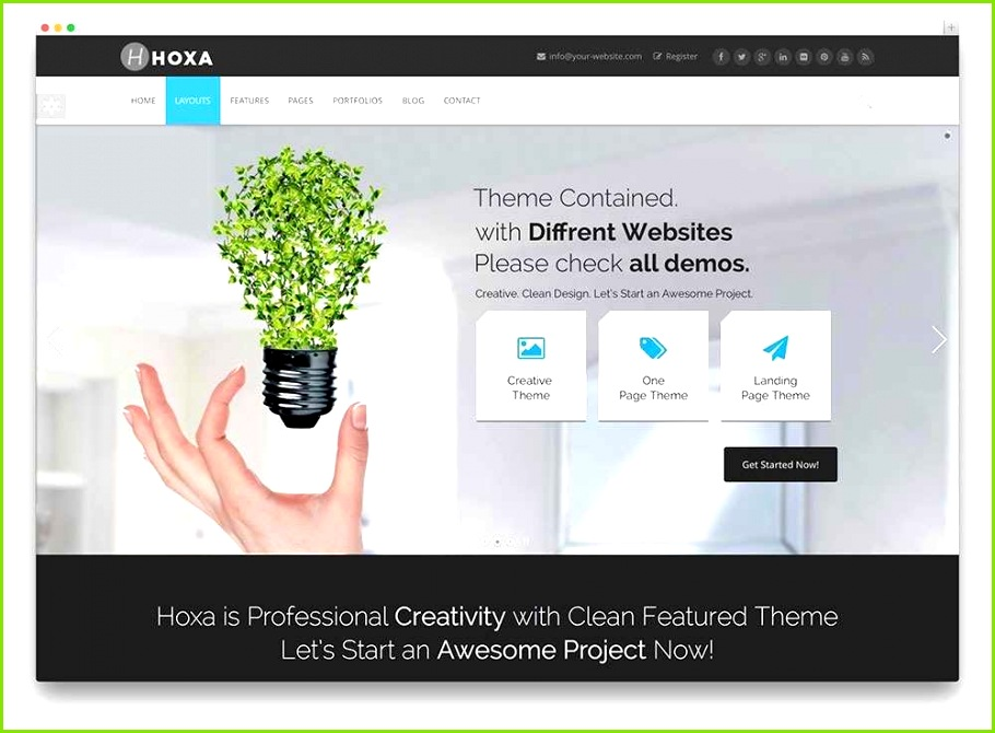 Wix Blog Templates Inspirational Web Design Templates Examples theme Template 0d Resume Free Design