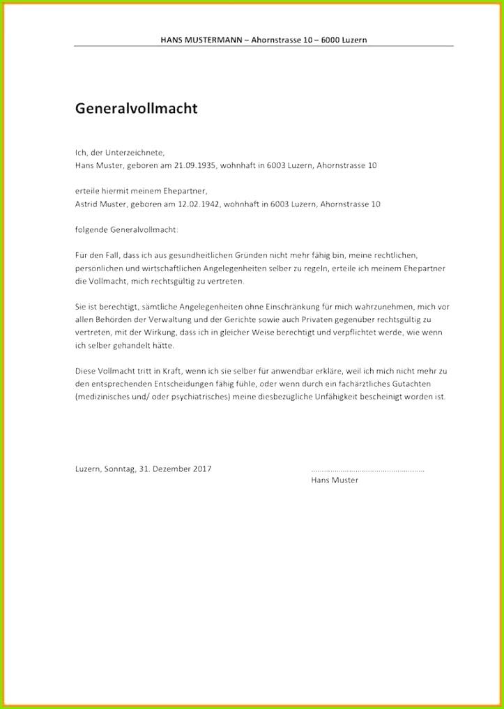Wlan Nutzungsvereinbarung Vorlage Neu Handlungsvollmacht Vorlage