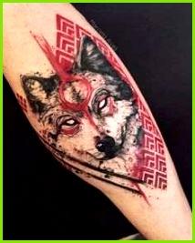 Wolf Tattoo Vorlage Am Besten Der Zobrazit Tuto Fotku Na Instagramu Od U…¾ivatele Kacetattooer • to