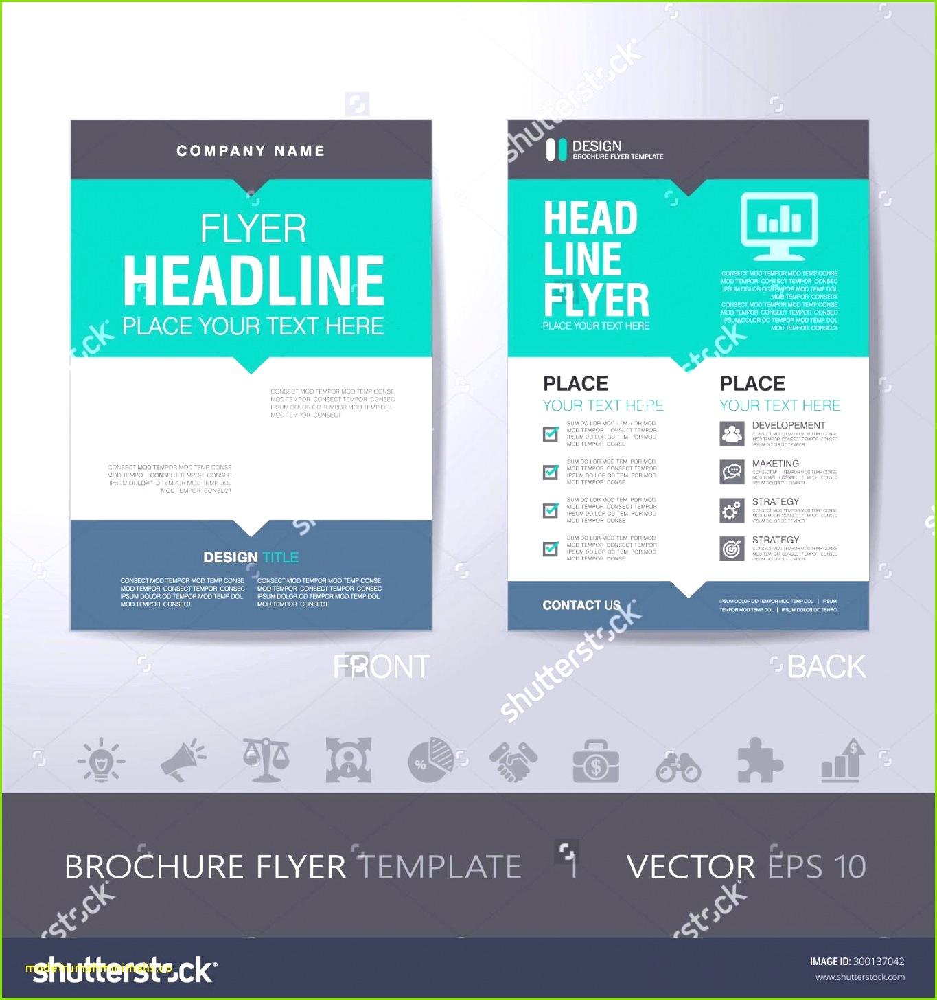 Broschüre Vorlage Word Beratung Flyer Erstellen Word Vorlage