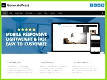 generate press WordPress Template Best Free WordPress Themes Themes Free Premium WordPress