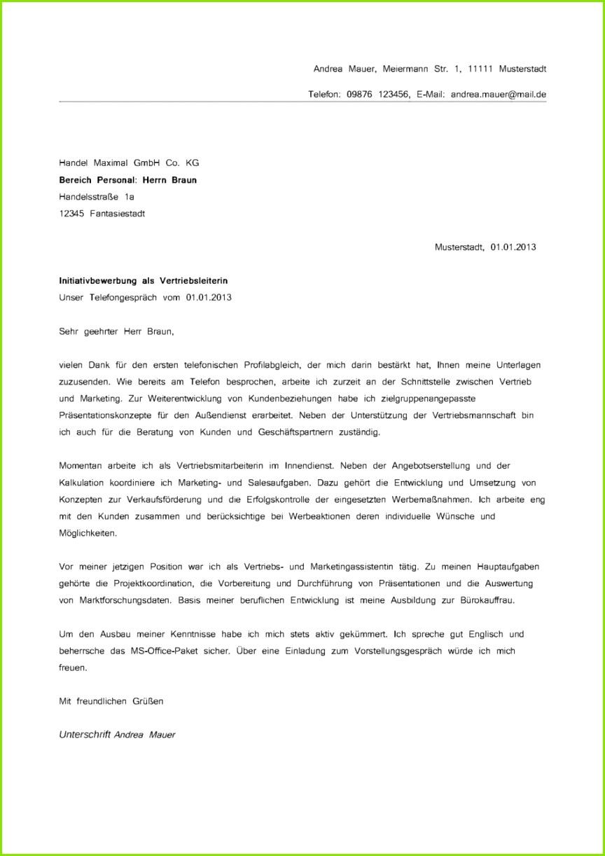 Begrenzt Muster Bewerbungsschreiben Verkaufsberater Auc39fen nst 29