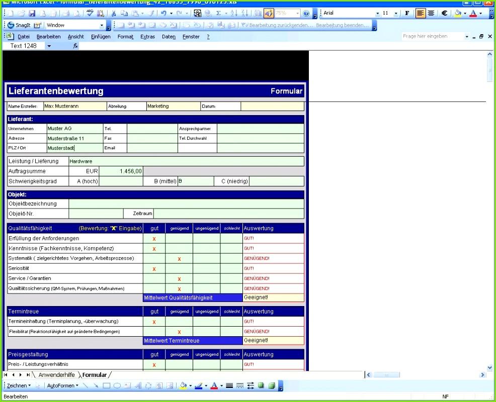 Lagerverwaltung Excel Vorlage Kostenlos Best Excel Vorlage Lieferantenbewertung Zum Sofort Download Der Lagerverwaltung Excel Vorlage Kostenlos