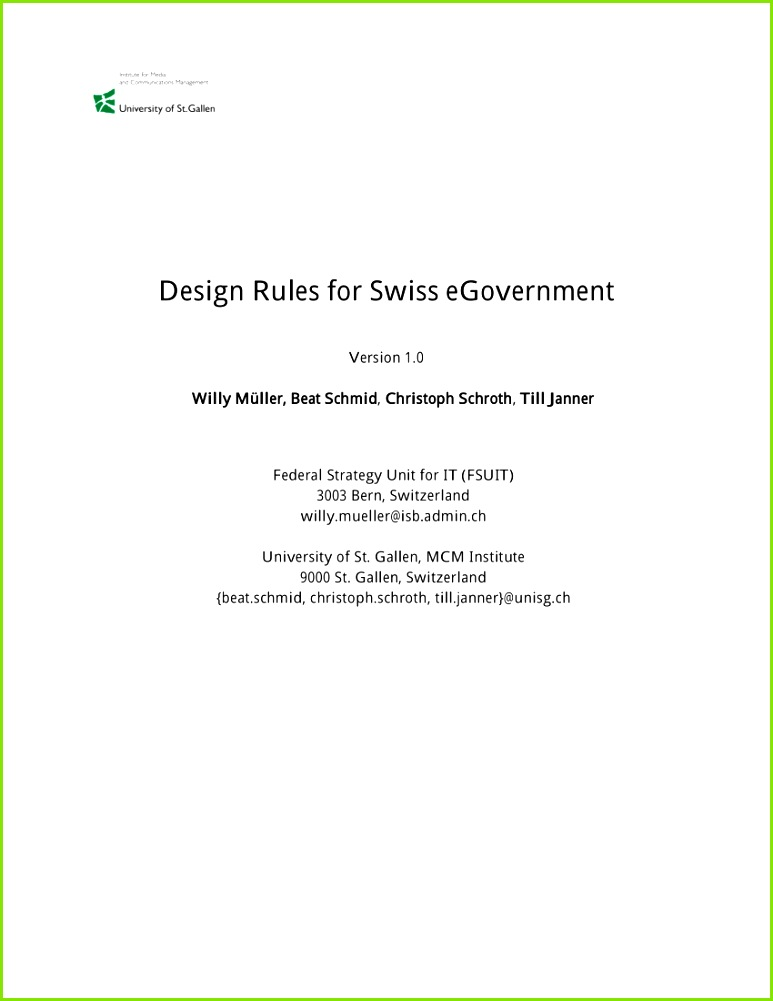 st galler management modell vorlage genial pdf design rules for swiss egovernment of st galler management modell vorlage