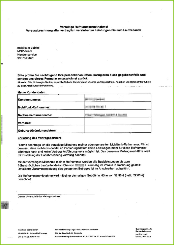 mobil debitel kundigung rufnummernmitnahme vorlage pdf neu typisch muster anschreiben vertrag unterschrieben zuruck der mobil debitel kundigung rufnummernmitnahme vorlage pdf