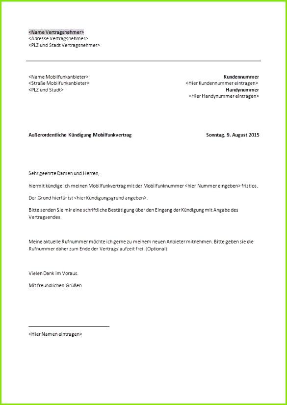 fantastisch 33 genial handyvertrag kundigen rufnummernmitnahme vorlage von handyvertrag kundigen rufnummernmitnahme vorlage